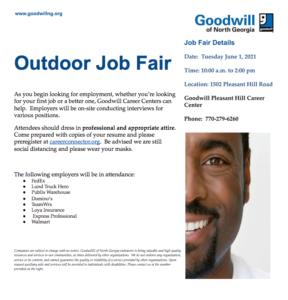 Goodwill Job Fair