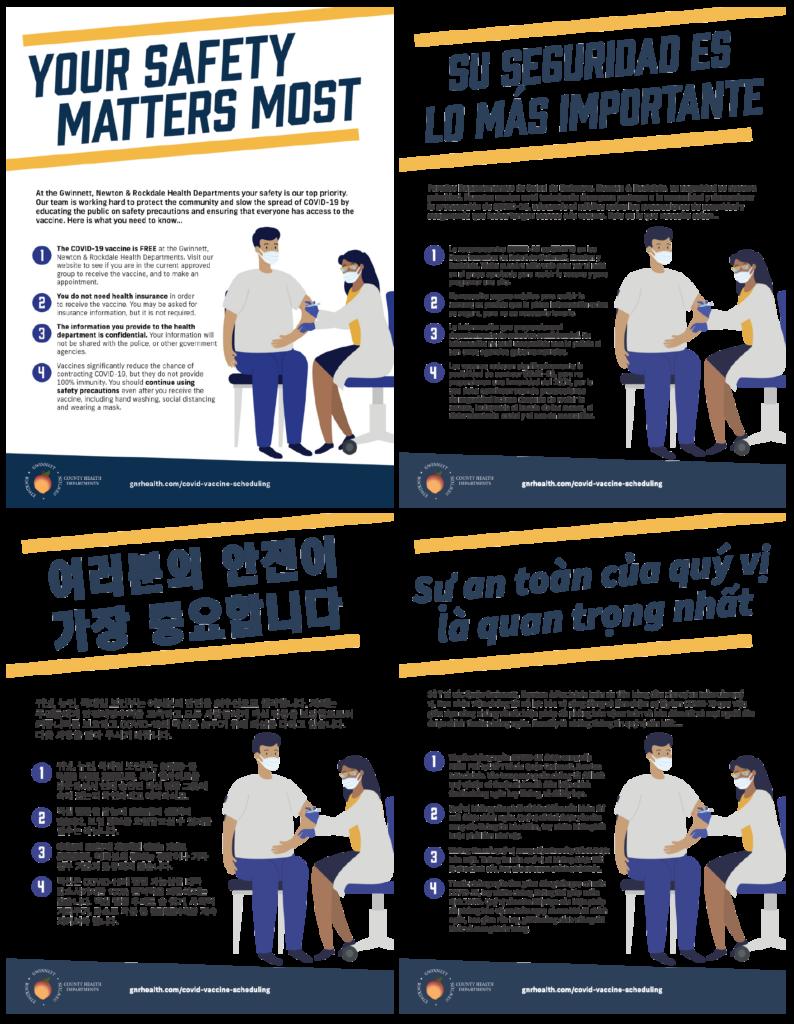 Patient Safety - English, Spanish, Korean & Vietnamese